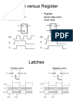 Latch Versus Register
