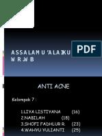 Kelompok 7 Anti Acne