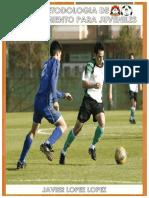 Entrenamiento Juveniles Fútbol