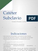 Cateter subclavio