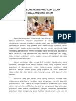 Keterlaksanaan Praktikum Dalam Pembelajaran Kimia Di Sma