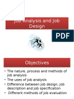 Job Analysis and Job Design 1