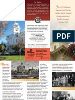 Governor's Mansion State Historic Park Brochure