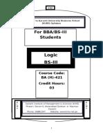 Logic BS-III .docx