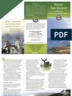 Hearst San Simeon State Park Brochure