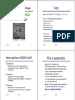Egion & Edge Based Segmentation - UiO