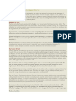 Fundamental Liability Theory in Development of Tort Law