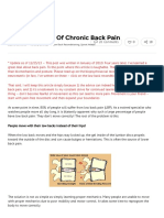 How to Get Rid of Chronic Back Pain - Bret Contreras