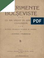 Experimente bolşeviste ce am văzut în Ungaria comunistă  bilanţul regimului bolşevic în Ungaria.pdf
