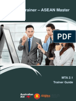 Master Assessor - Trainer Guide