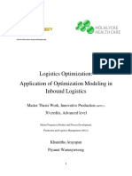 Optimization Modelling