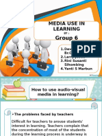 Media Use in Learning by Group 6