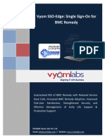 Vyom Labs Solution for Single Sign on for BMC Remedy ITSM