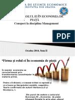 Firma Si Rolul Ei in Economia de Piata