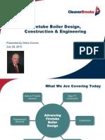 FT Boiler Design, Construction and Eng. July 2015