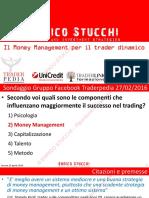 Il Money Management Per Il Trading Dinamico Enrico Stucchi