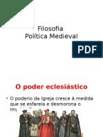 Aula de Filosofia Política Medieval