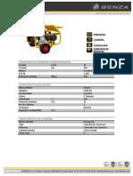 Hidrolimpiadora Benza H200 15