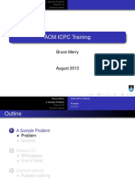 Icpc Training