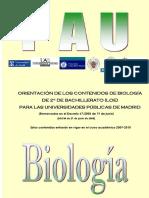 15 Orientaciones Contenidos Biología
