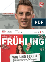 Matchprogramm FC Thun - FC St. Gallen