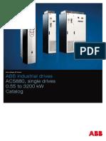 En ACS880 Single Drives 3AUA0000098111 RevM
