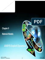 ANSYS Explicit Dynamics Material Models