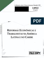 Relatório de Desenvolvimento Mundial de 1995