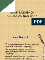 BANK  LEMBAGA KEUANGAN NON BANK .ppt