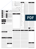 Tormenta RPG - Ficha de Personagem (v. Bruno Ikeda) - Biblioteca Élfica