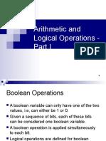 14 - Arithmetic & Logic 1