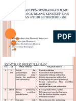 1 Sejarah Dan Pengembangan Ilmu Epidemiologi Ruang Lingkup Epidemologi- Drh Mira