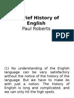 A Brief History of English