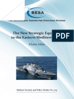 New Strategic Equation in Eastern Mediterranean