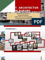 Presentasi Recent Architectur in Eropa
