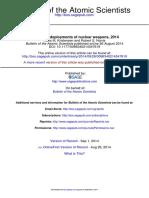 Bulletin of the Atomic Scientists-2014-Kristensen