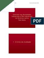 Controle nas sociedades industriais e pós-industriais na América Latina