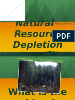 natural resource depletion