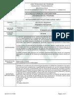 Instalaciones Eléctricas Domiciliarias - Nivel i - 05-11-15