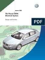 SSP 340 VW the Passat 2006 Electricals