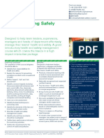 IOSH Managing Safely Factsheet