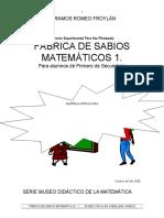 SABIOS MATEMÁTICOS 1