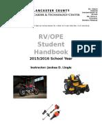 handbook rv josh lingle