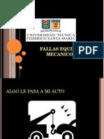 FALLAS EQUIPOS MECANICOS