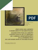 Principio del mèrito y derechos fundamentale. Elementos para el diseño instituconal de un sistema de carrera administrativa.pdf