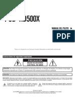 POD HD500X Quick Start Guide - Spanish ( Rev C ).pdf