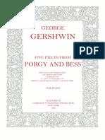 Gerswhin MarcPorgyAndBess