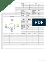 Spec Sheet Reactor
