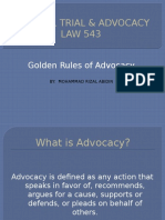 LAW543 Advocacy Rules.pptx
