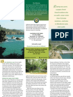 Mendocino Headlands State Park Brochure